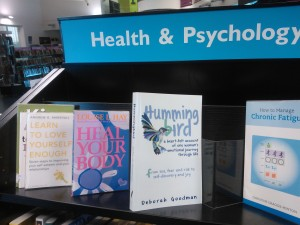Biggin Hill Library, Book on bookshelf