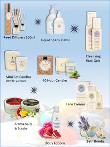 aromatherapy party products