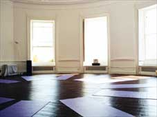 mindfulness retreat room